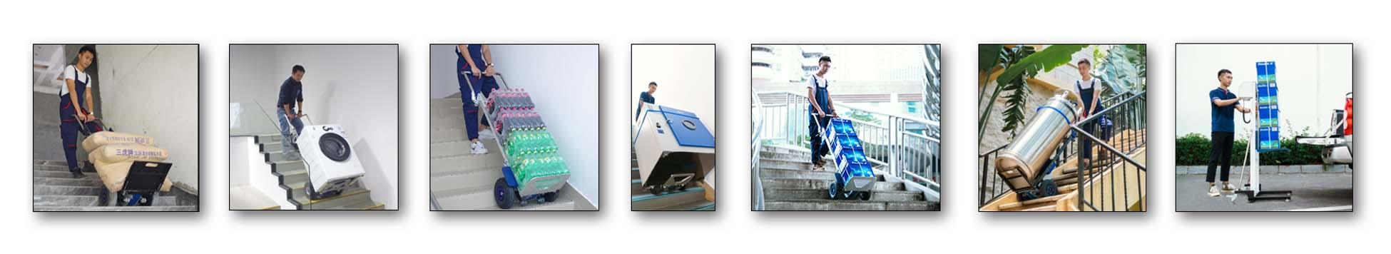 Carretillas elevadoras y sube escaleras eléctricos
