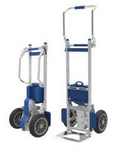 Carretilla Sube escaleras electrica ZW7170G sube pesos por escaleras hasta 170kg