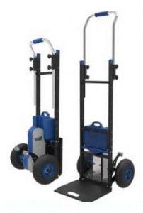 Carretilla sube escaleras electrica ZW4170D acero con capacidad hasta 170kg